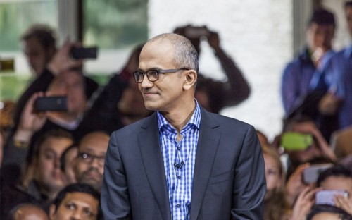 Satya Nadella, Microsoft's CEO, graduated from Chicago's Booth School of Business