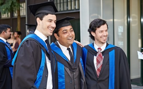 Luca (Left) graduated with an MBA from Copenhagen Business School in 2017