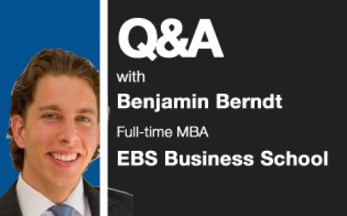 EBS Business School MBA 2011, Benjamin Berndt