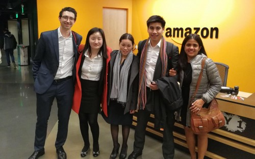 Jessy (center) will graduate with an MBA from Hong Kong's HKUST Business School in 2018