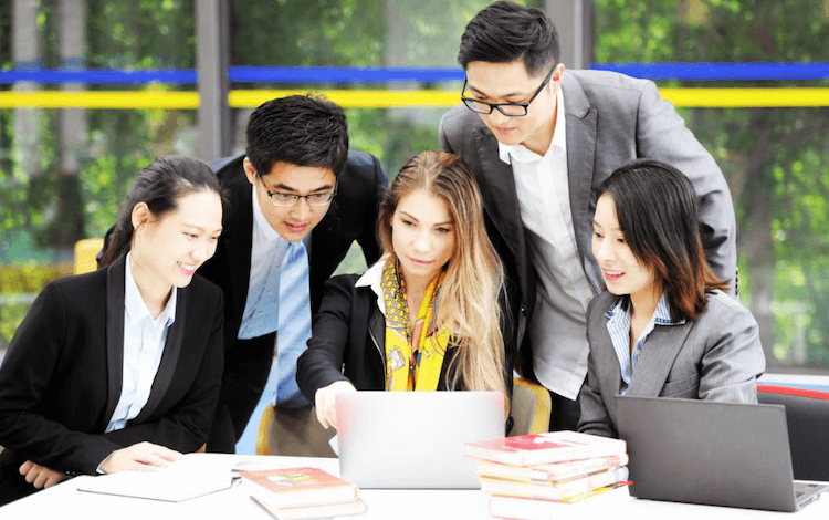 fudan mba students. mba program is top-ranked by financial times mba ranking