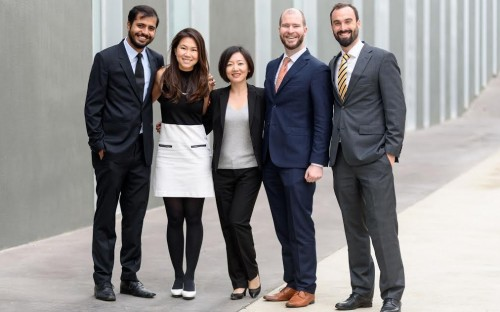 Michael (second from right) is an MBA student at ESADE Business School in Barcelona