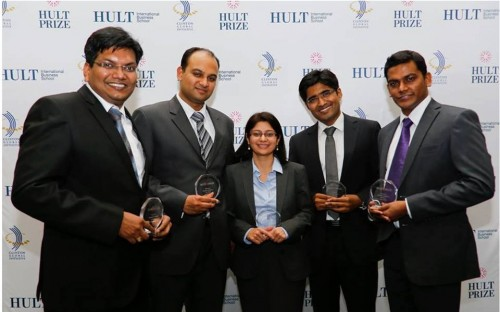 NanoHealth won the Hult Prize 2014 while representing the Indian School of Business