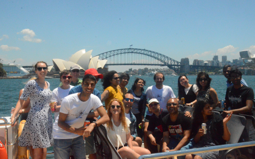 The competition was hosted by the business school AGSM in Sydney