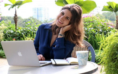 Mona Bijjani—author and ex-b-school partner—starts her MBA at INSEAD in January 2018
