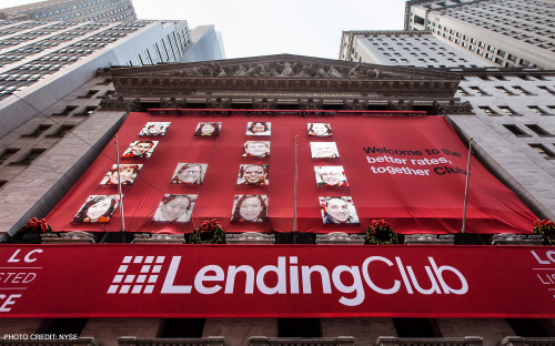 US peer-to-peer finance start-up Lending Club is headed by a French b-school graduate