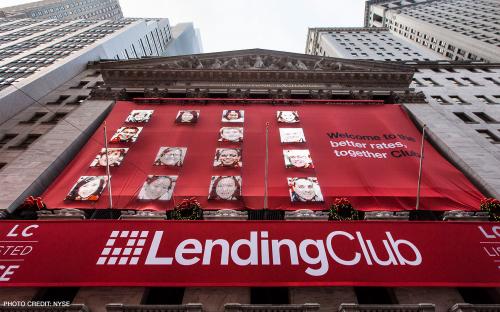 US peer-to-peer finance start-up Lending Club is headed by a French b-school graduate