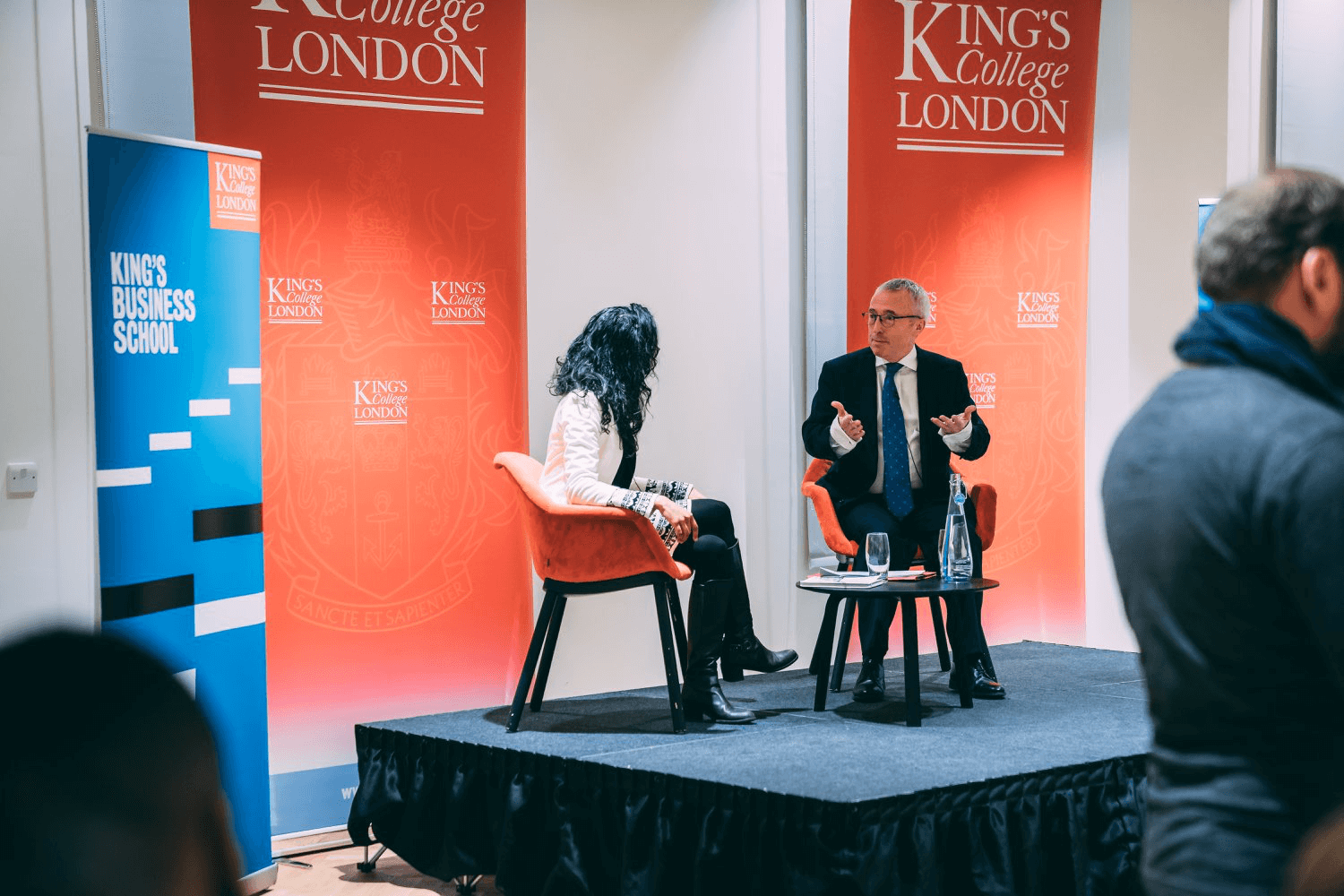 King's College Business School event