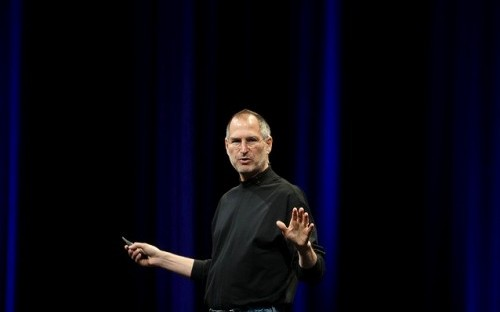 Steve Jobs, who died today aged 56