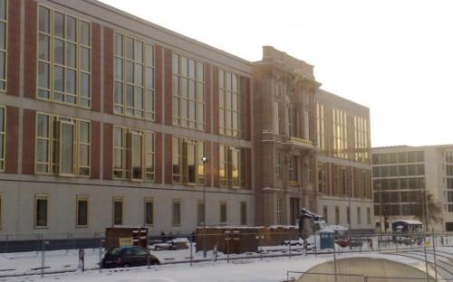 Hazardous journey - winter in Berlin