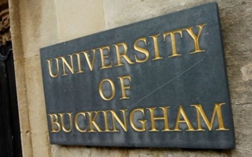 The University of Buckingham School of Business is unranked and self-accreditating