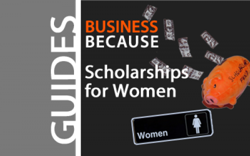Business schools are trying to increase the number of women on their MBA programs, so go out and get you some scholarship money girls!