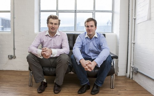 INSEAD MBA graduate Taavet Hinrikus, right, and co-founder Kristo Kaarmann