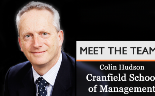 Colin Hudson, Director of Career Development at Cranfield