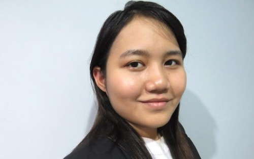 Yi Mon wants to give something back to her home country, Myanmar