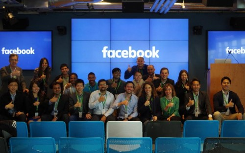 Facebook was one of several tech companies toured by HEC Paris MBAs