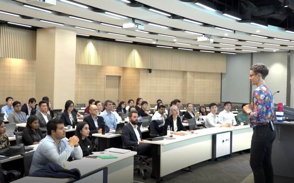 example of hku business school mba lecture