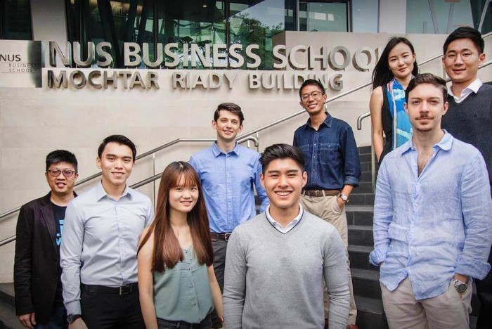 ©NUS Facebook - The MBA class at the National University of Singapore (NUS) is 88% international