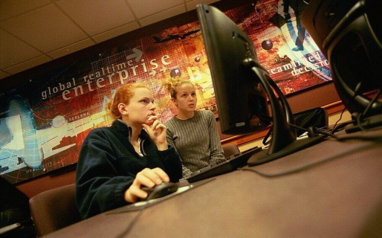 MBA students at Smith are taught about working responsibly with technology