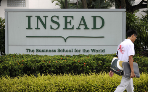 INSEAD's record gift comes from an anonymous and longstanding supporter