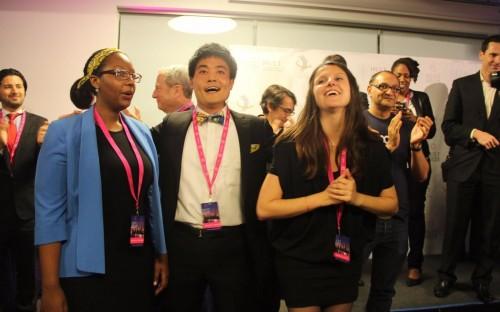 Nataliey Bitature, Keisuke Kobata and Manon Lavaud are the team behind Musana Carts