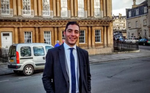 Rafael transitioned from management consulting into retail technology with an MBA at Bath