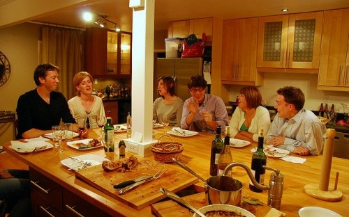 Next time you're at a dinner party, why not try underestimating your guests?