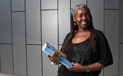 UWA student Fadzi Whande started volunteering for the United Nations in high school