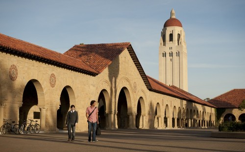 Stanford University topped a new business school ranking