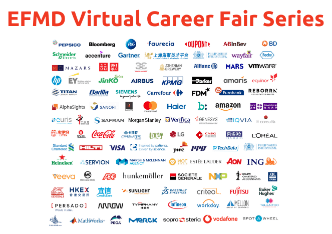 list of companies hiring from the virtual careers fair