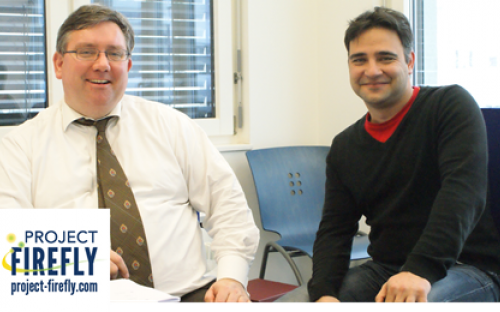 Daniel Garraty (right) and co-founder Professor Simon Evenett started working on the idea during Daniel's MBA programme
