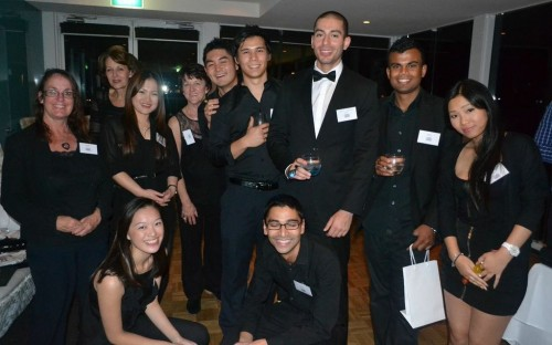 Ten young alums helped Sydney Children's Hospital Foundation with their Summer Salt Gold Event.