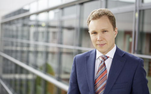 Cass graduate Artem Andrianov is the co-founder and chief executive officer of Cyntegrity