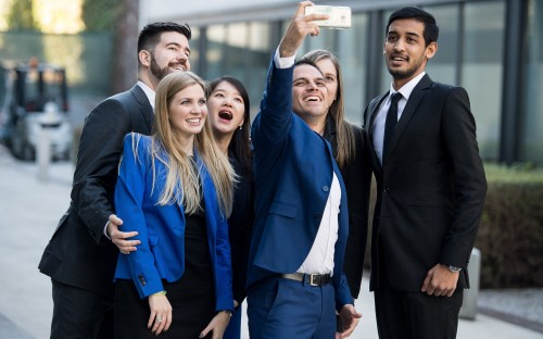 Full-time MBA students at ESADE Business School
