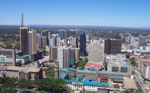 Nairobi, Kenya, one of the cities the Group visited this year, is one of the world's fastest growing cities