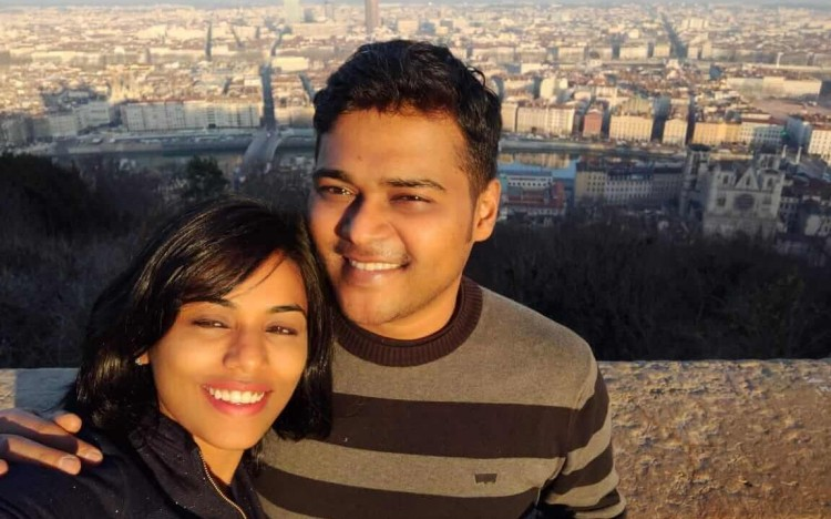 Karthik and his wife Vidya made a promise not to let their marriage stall their careers