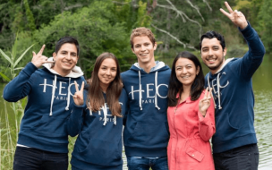 ©HEC Facebook—HEC Paris is ranked the best business school in Europe for salary increase for its full-time MBA by the Economist