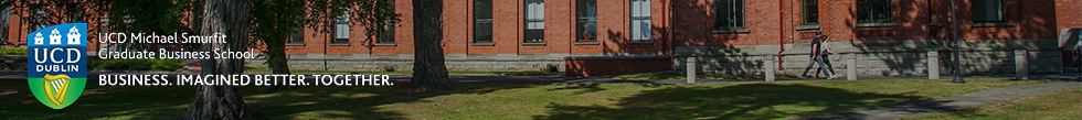 Banner of University College Dublin: Smurfit Business School