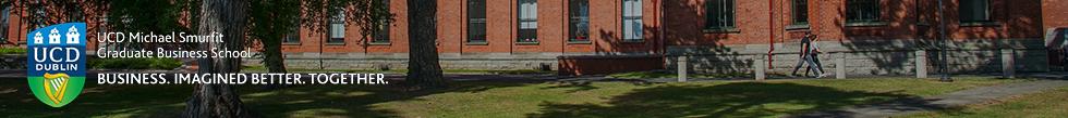 Banner of University College Dublin: Smurfit Business School