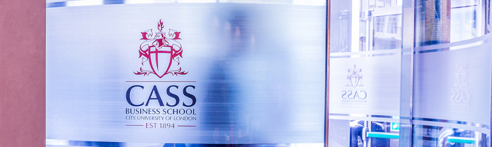 Banner ofCity University Business School