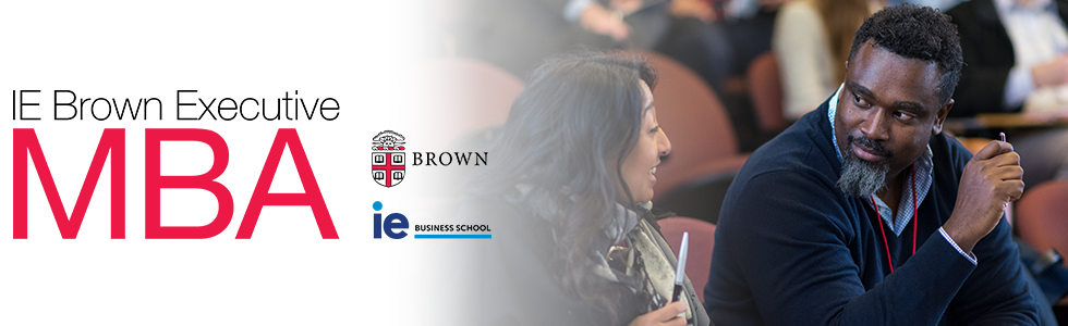 Banner ofIE Brown Executive MBA
