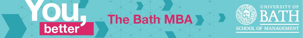 Banner of University of Bath School of Management (MBA)