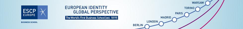 Banner of ESCP Europe Executive MBA