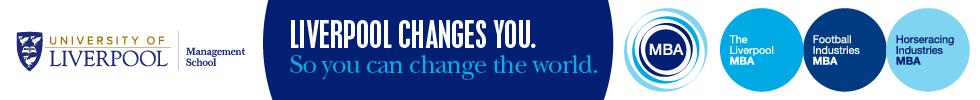Banner of University of Liverpool School of Management