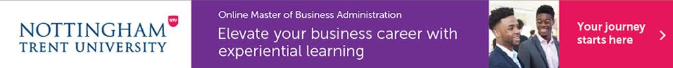 Banner of Nottingham Trent University Online