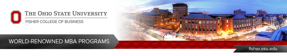 Banner of The Ohio State University - Fisher College of Business