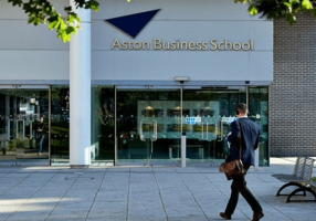 Logo of Aston Business School