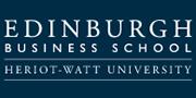Logo of Edinburgh Business School, Heriot-Watt University