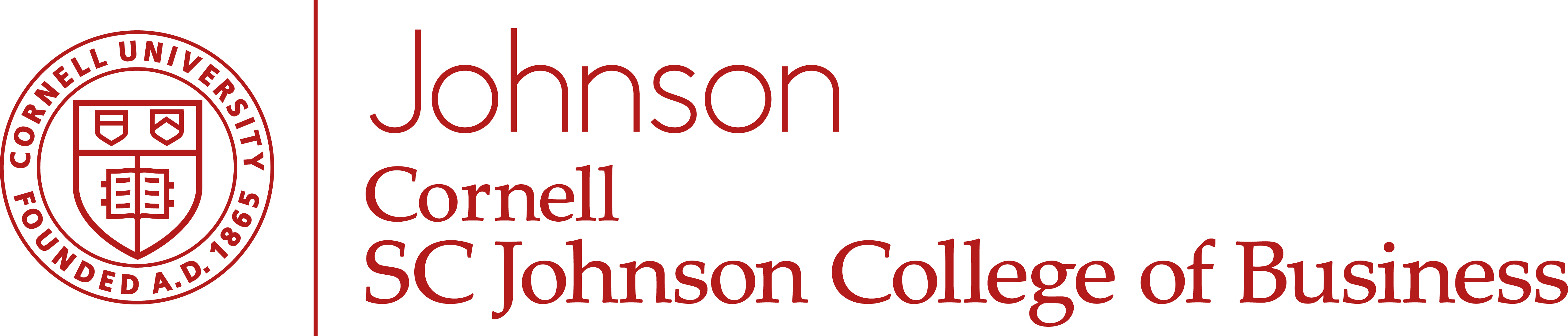 Logo ofCornell University: Johnson One-Year MBA