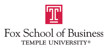 Logo ofFox School of Business - Temple University